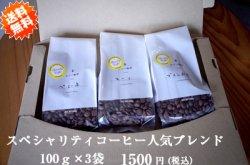 画像1: 【クリックポスト送料無料!】スペシャリティーコーヒー人気ブレンド100g×3袋